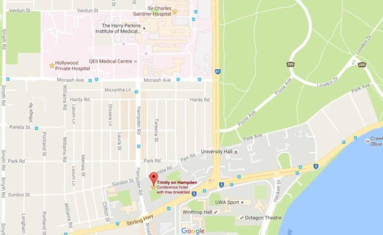 Accommodation Location near Hospitals